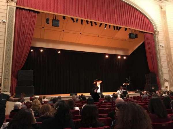 The Town Hall, vak: Orchestra, rij: O, stoel: 127