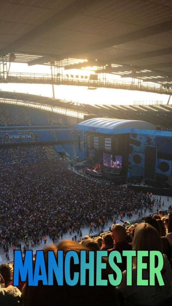 Etihad Stadium (Manchester), vak: 306, rij: BB, stoel: 178