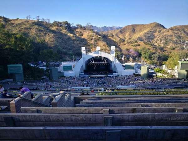 Hollywood Bowl, vak: S, rij: 10, stoel: 121