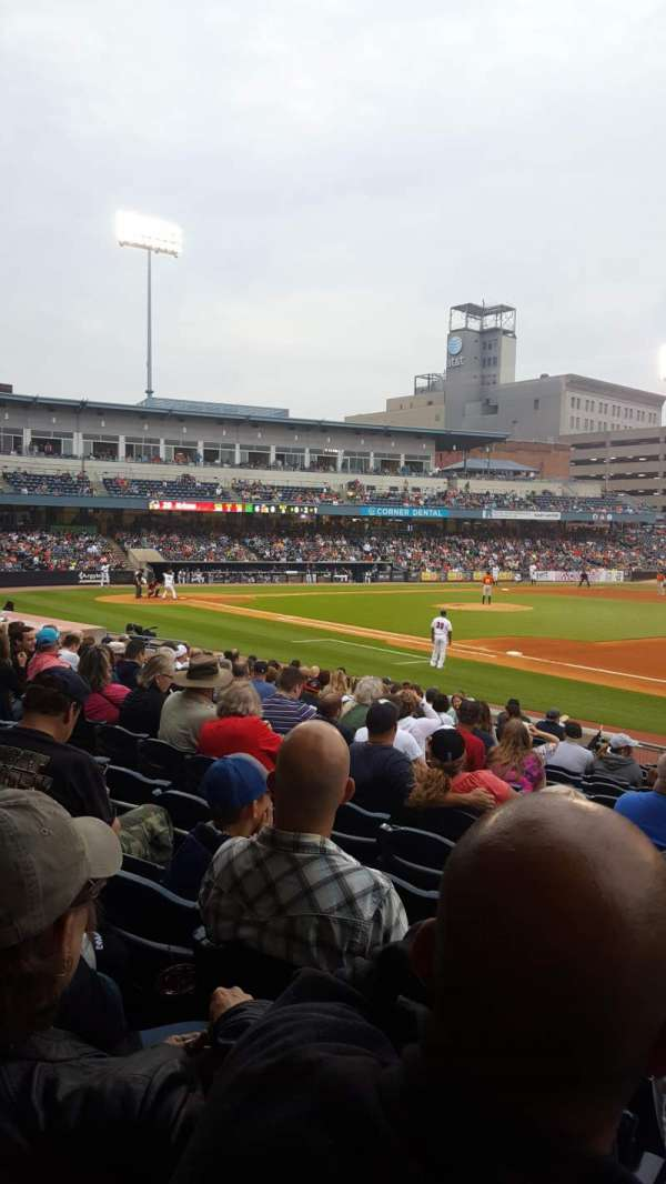 Fifth Third Field, vak: 117, rij: R, stoel: 11