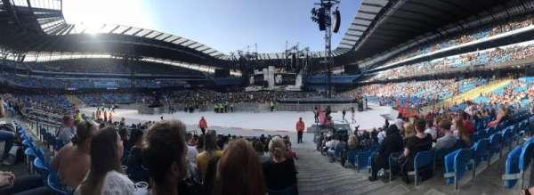 Etihad Stadium (Manchester), vak: 114, rij: P, stoel: 355