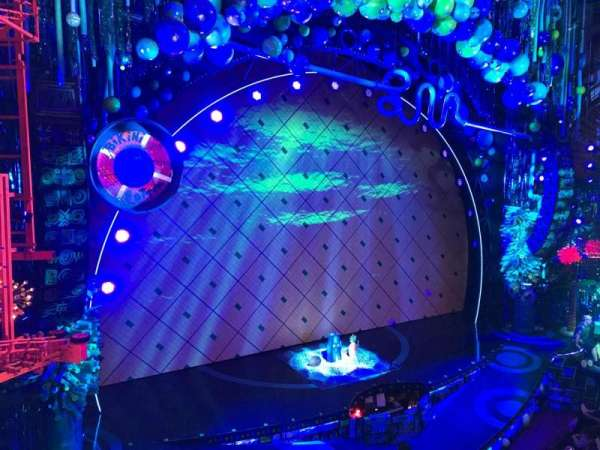 Palace Theatre (Broadway), vak: Front Mezzanine, rij: AA, stoel: 7