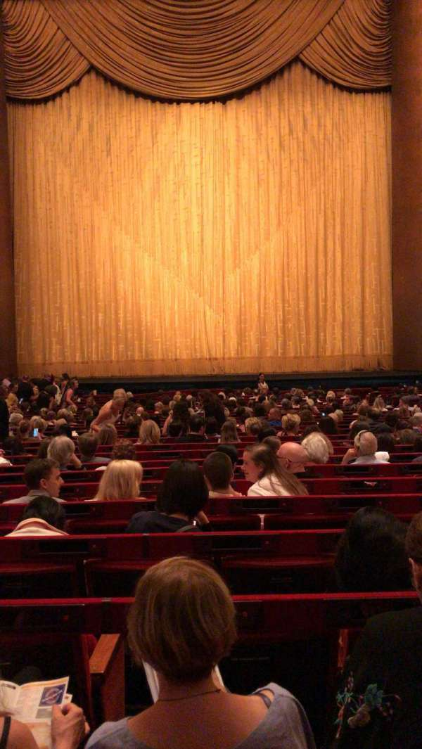 Metropolitan Opera House - Lincoln Center, vak: Orchestra, rij: Z, stoel: 110