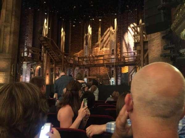 CIBC Theatre, vak: Orchestra R, rij: J, stoel: 12