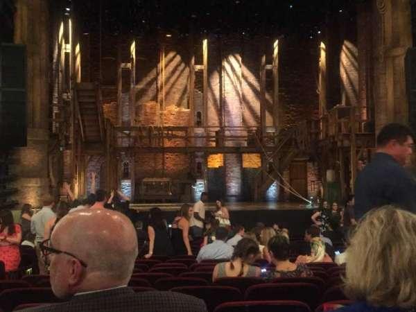 CIBC Theatre, vak: Orchestra C, rij: U, stoel: 105
