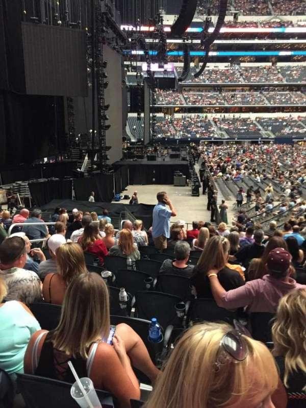 AT&T Stadium, vak: 124, rij: 14, stoel: 7