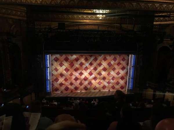 Brooks Atkinson Theatre, vak: Mezz, rij: H, stoel: 120