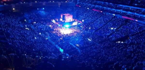 The O2 Arena, vak: 408, rij: U, stoel: 429