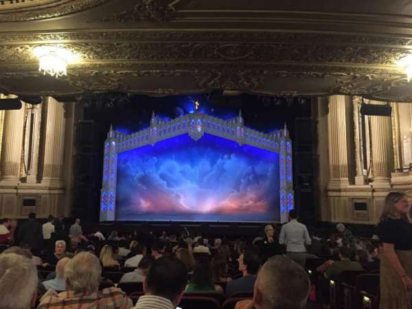 Boston Opera House, vak: Orchestra, rij: S, stoel: 101