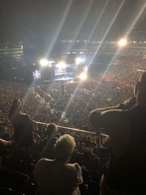 Gillette Stadium, vak: 301, rij: 11, stoel: 3