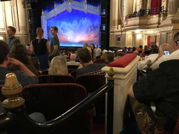 Boston Opera House, vak: ORCBXR, rij: S, stoel: 50