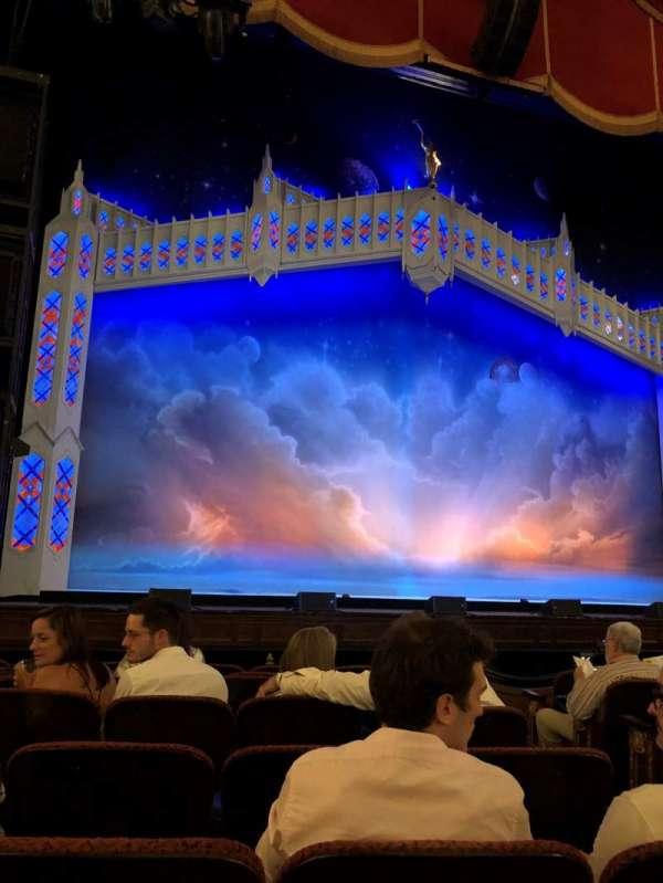 Boston Opera House, vak: ORCHLC, rij: D, stoel: 5