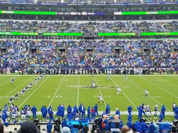 M&T Bank Stadium, vak: 100, rij: 29, stoel: 7