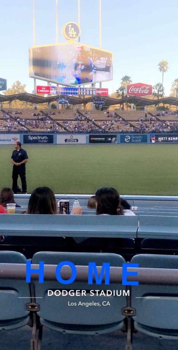Dodger Stadium, vak: 39FD, rij: 2, stoel: 3-4