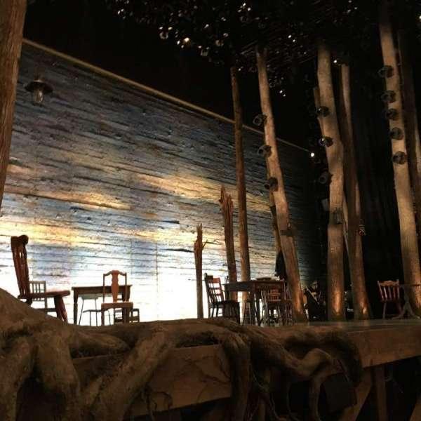 Gerald Schoenfeld Theatre, vak: Orchestra, rij: B, stoel: 7
