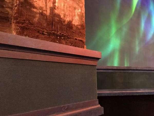 St. James Theatre, vak: Orchestra L, rij: A, stoel: 11
