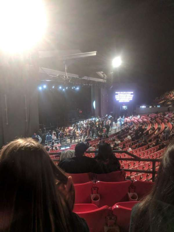 The Greek Theatre, vak: N. Terrace, rij: EE, stoel: 15