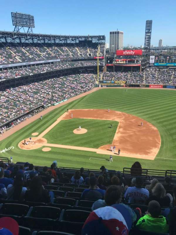 Guaranteed Rate Field, vak: 524, rij: 13, stoel: 4