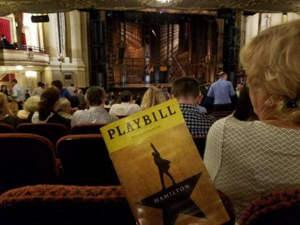 Boston Opera House, vak: Orchestra Left Center, rij: U, stoel: 13