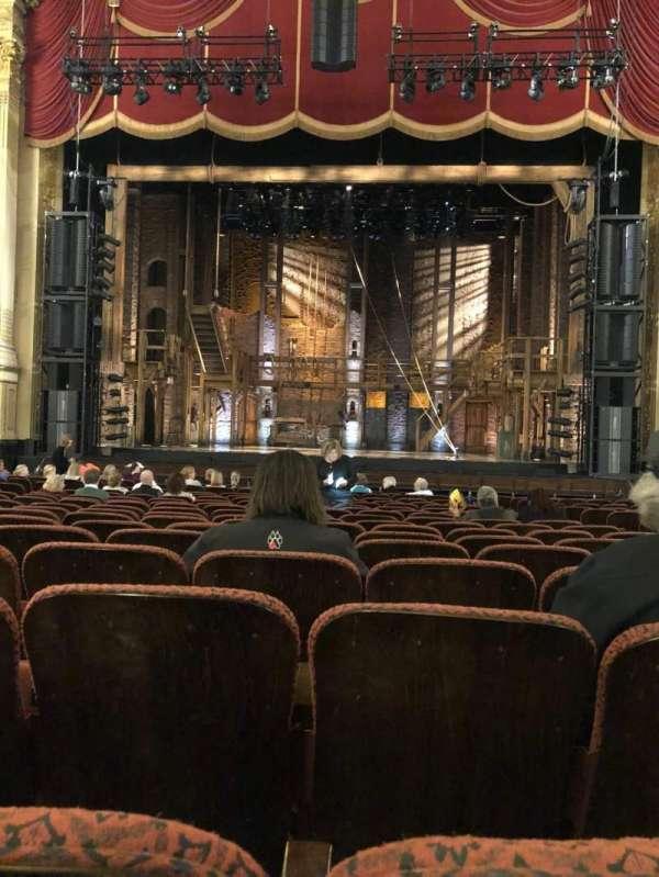 Boston Opera House, vak: ORCCTR, rij: N, stoel: 104