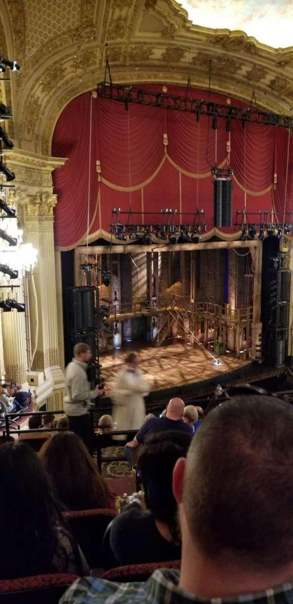Boston Opera House, vak: Mezzanine Left, rij: G, stoel: 35