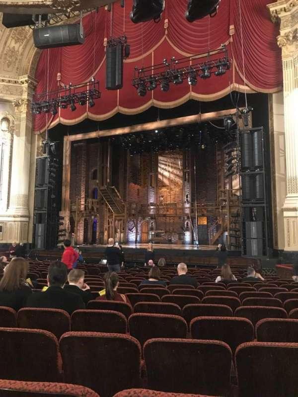 Boston opera house, vak: Orchestra R, rij: N, stoel: 22