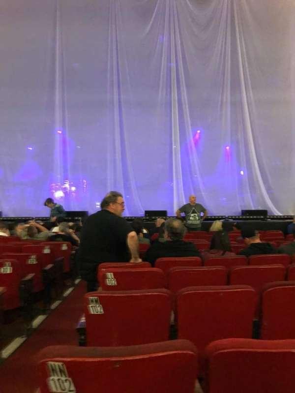 Orpheum Theatre (Boston), vak: Orchestra RC, rij: PP, stoel: 102