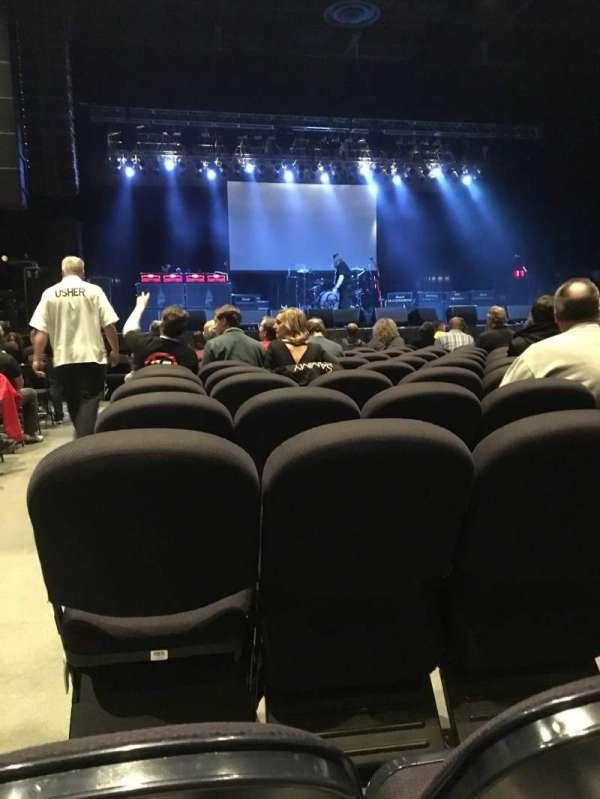 Hard Rock Rocksino Northfield Park, vak: 2, rij: P, stoel: 1