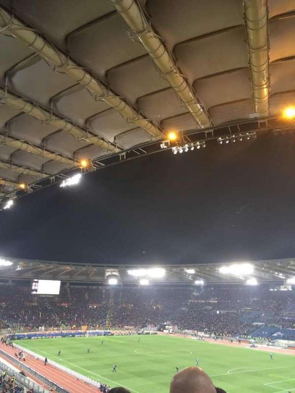 Stadio Olimpico, vak: 44AD, rij: 48
