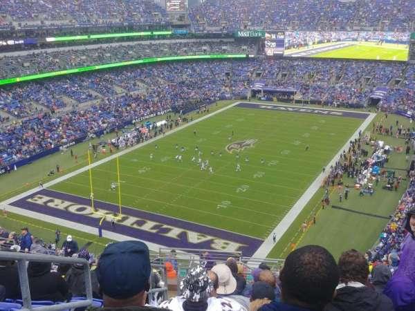 M&T Bank Stadium, vak: 536, rij: 18, stoel: 21