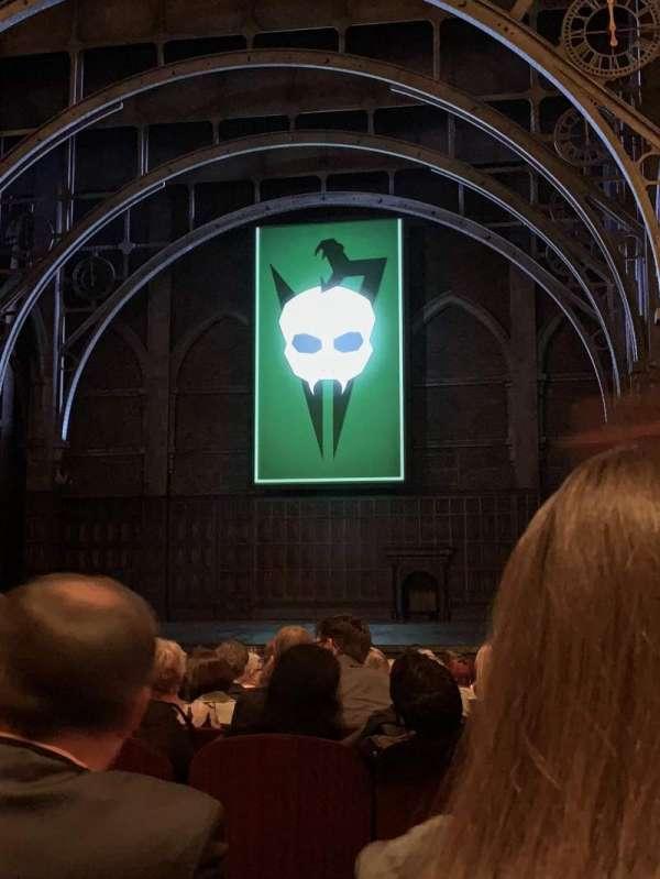 Lyric Theatre, vak: Right Orchestra, rij: M, stoel: 14