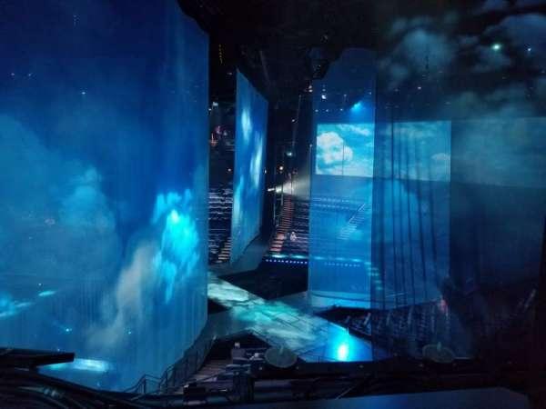 Love Theatre - The Mirage, vak: 304, rij: AA, stoel: 8