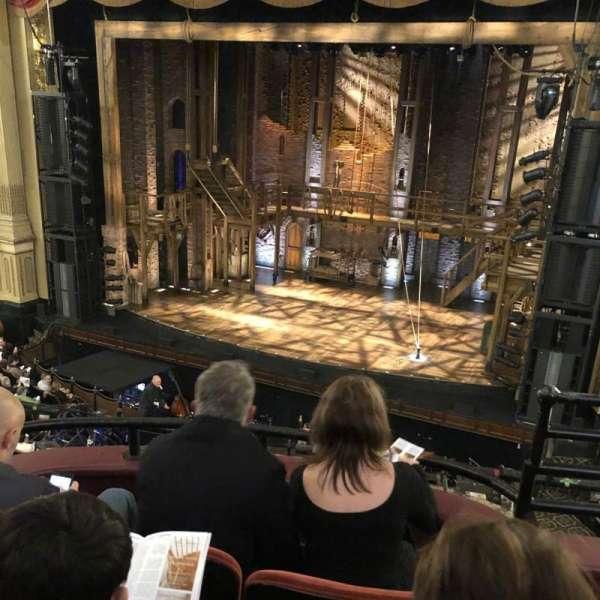 Boston Opera House, vak: dress circle right center, rij: CC, stoel: 14 16 18