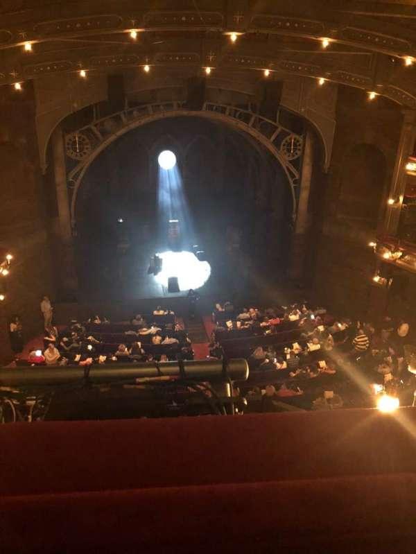 Lyric Theatre, vak: BALCCF, rij: A, stoel: 103