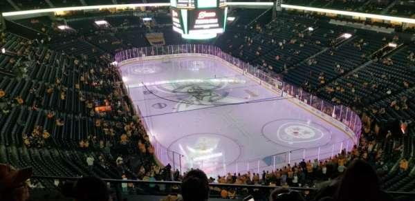 Bridgestone Arena, vak: 332, rij: C, stoel: 6