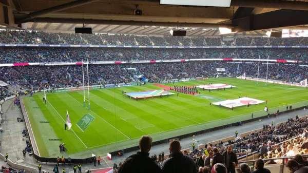 Twickenham Stadium, vak: M38, rij: 72, stoel: 406
