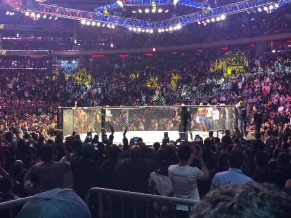 Madison Square Garden, vak: 119, rij: 3, stoel: 3