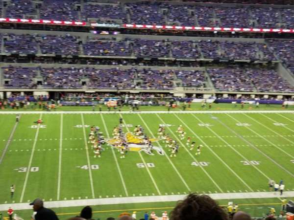 U.S. Bank Stadium, vak: C4, rij: 10, stoel: 5