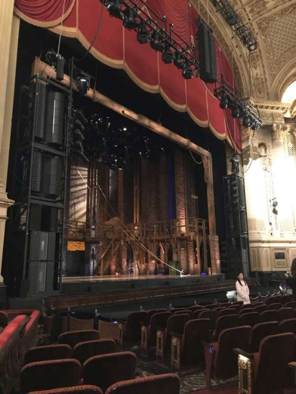 Boston Opera House, vak: LORCLV, rij: G, stoel: 35
