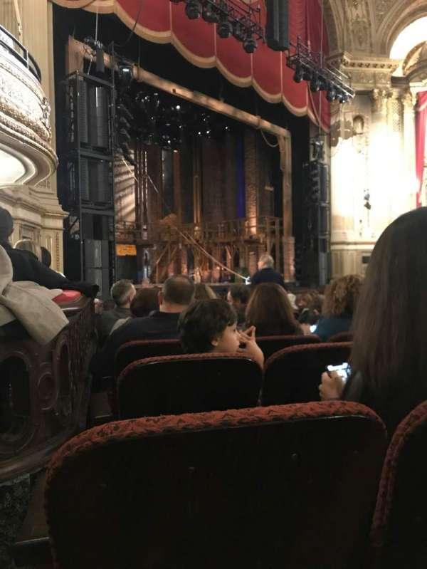 Boston Opera House, vak: Orchestra Left, rij: L, stoel: 41
