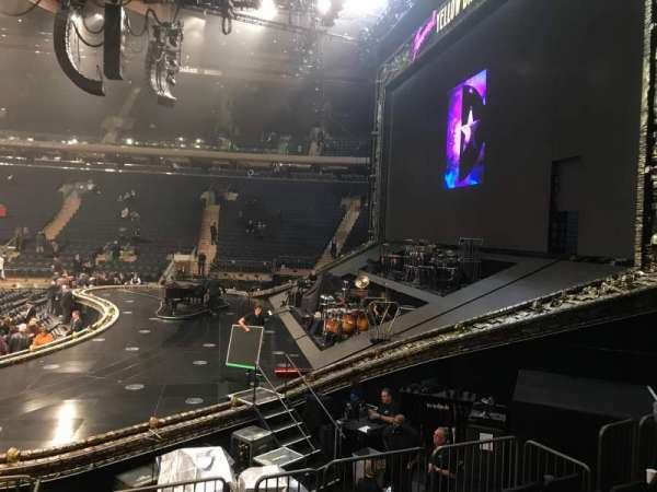 Madison Square Garden, vak: 109, rij: 8, stoel: 14