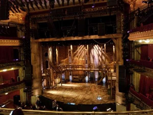 CIBC Theatre, vak: Mezzanine, rij: D, stoel: 318