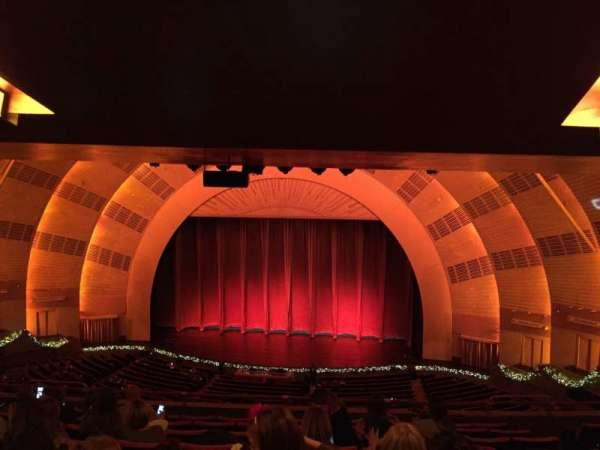 Radio City Music Hall, vak: 2nd Mezzanine 3, rij: J, stoel: 304