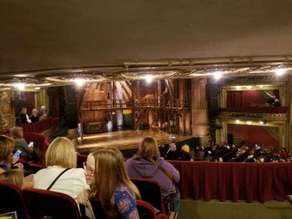 CIBC Theatre, vak: Dress Circle L, rij: D, stoel: 3