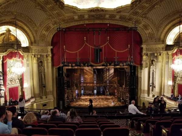 Boston Opera House, vak: MezzLC, rij: H, stoel: 103