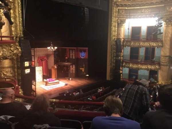 Emerson Colonial Theatre, vak: Dress Circle, rij: E, stoel: 21