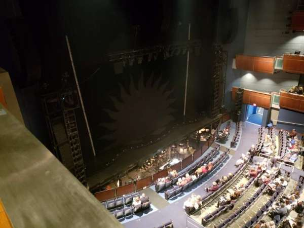 Civic Center Music Hall, vak: Mezzanine Left Box 2, rij: A, stoel: 3