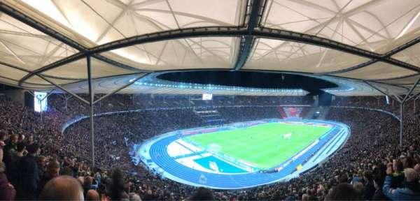 Olympiastadion, vak: 33.2, rij: 26, stoel: 1