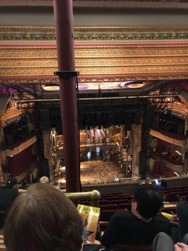 CIBC Theatre, vak: Balcony LC, rij: K, stoel: 407