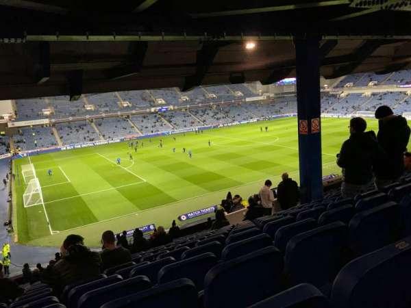 Ibrox Stadium, vak: MRS, rij: H